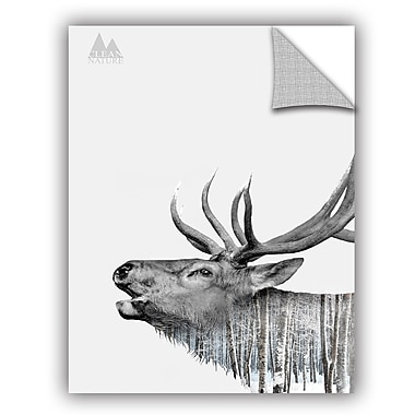 ArtWall Clean Nature Deer Wall Decal; 32'' H x 24'' W x 0.1'' D