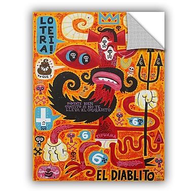 ArtWall Jorge Gutierrez Loteria Wall Decal; 48'' H x 36'' W x 0.1'' D