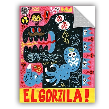 ArtWall Jorge Gutierrez Monstro Wall Decal; 18'' H x 14'' W x 0.1'' D