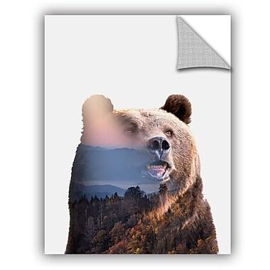 ArtWall Clean Nature Bear Wall Decal; 48'' H x 36'' W x 0.1'' D