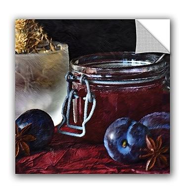ArtWall Scott Medwetz Homemade Blueberry Jam Wall Decal; 10'' H x 10'' W x 0.1'' D