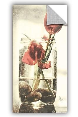 ArtWall Scott Medwetz Mason Jar Tulips Wall Decal; 48'' H x 24'' W x 0.1'' D