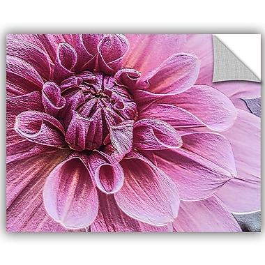 ArtWall Scott Medwetz Royal Plum Flower Wall Decal; 14'' H x 18'' W x 0.1'' D