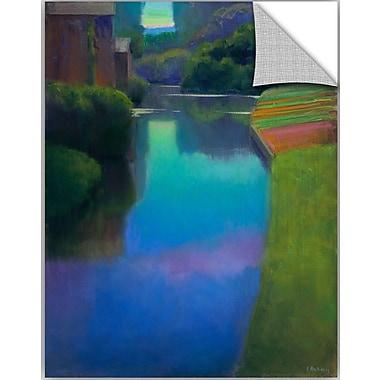 ArtWall Ian Roberts Dusk at Contevoir Wall Decal; 24'' H x 18'' W x 0.1'' D