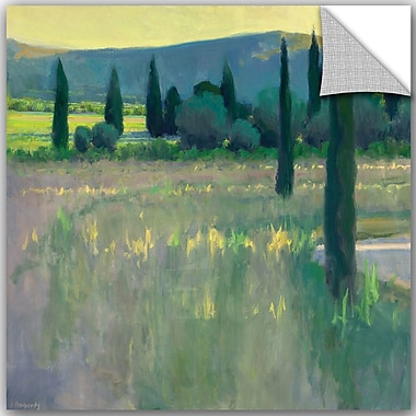 ArtWall Ian Roberts Evening at the Chateau Wall Decal; 18'' H x 14'' W x 0.1'' D