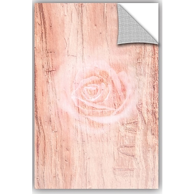 ArtWall Scott Medwetz Wooden Rose Wall Decal; 48'' H x 32'' W x 0.1'' D