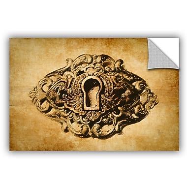 ArtWall Scott Medwetz Vintage Keyhole Wall Decal; 8'' H x 12'' W x 0.1'' D