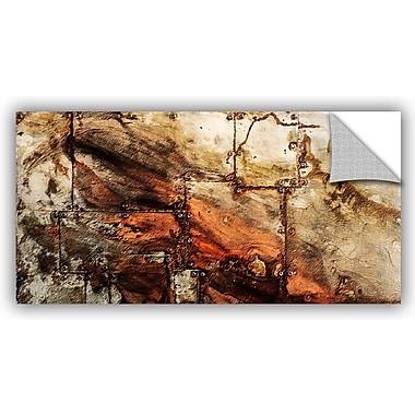 ArtWall Scott Medwetz Cooper Sheet Metal Rivets Wall Decal; 18'' H x 36'' W x 0.1'' D
