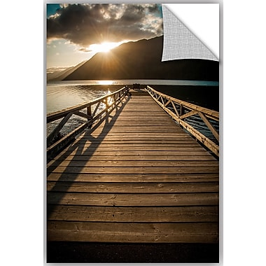 ArtWall Tim Oldford Crescent Lake Sunset Wall Decal; 24'' H x 16'' W x 2'' D