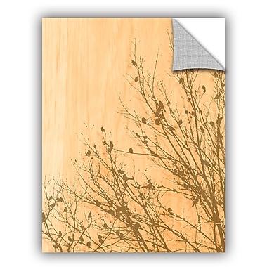 ArtWall Scott Medwetz Rustic Bird Tree Wall Decal; 18'' H x 14'' W x 0.1'' D