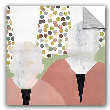 ArtWall Nicolai Kubel Olesen Twins Wall Decal; 36'' H x 36'' W x 0.1'' D