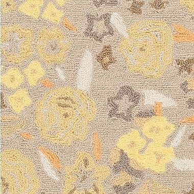 Martha Stewart Rugs Hand-Tufted Nutshell Area Rug; Runner 2'3'' x 10'