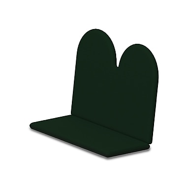 POLYWOOD Outdoor Sunbrella Bench Cushion; Forest Green