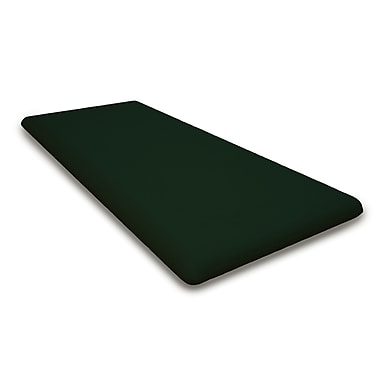 POLYWOOD Outdoor Sunbrella Bench Cushion; Forest Green