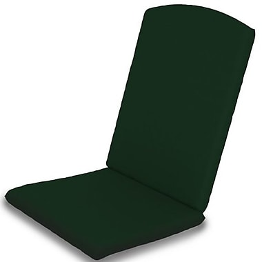 POLYWOOD Outdoor Sunbrella Dining Chair Cushion; Forest Green