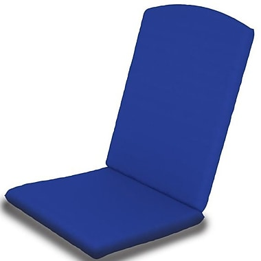 POLYWOOD Outdoor Sunbrella Dining Chair Cushion; Pacific Blue