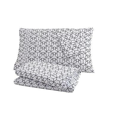 clairebella Fractal 100pct Cotton Sheet Set; King