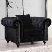 Rosdorf Park Garrett Chesterfield Chair Chair