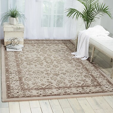 Darby Home Co Fraserburgh Brown/Ivory Area Rug; 3'9'' x 5'9''