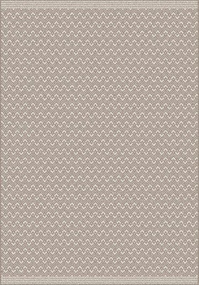 Gracie Oaks Pawling Brown Area Rug; Rectangle 5'3'' x 7'7''