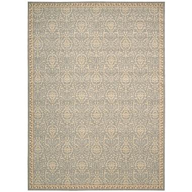 Astoria Grand Lundon Blue/Tan Rug; 2' x 2'9''