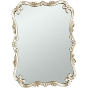 Astoria Grand Rectangle Gold Wall Mirror
