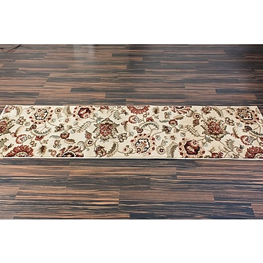 Charlton Home Malinda Ashley Oriental Area Rug; Runner 2'3'' x 7'3''
