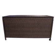 California Outdoor Designs Santa Monica Wicker Deck Box