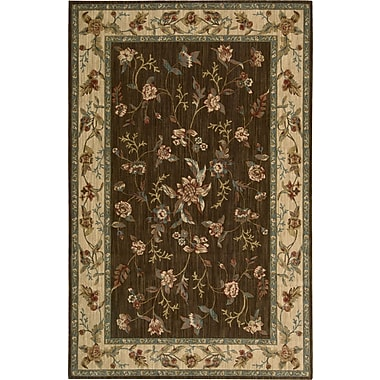 Darby Home Co Gattis Brown Area Rug; Rectangle 3'6'' x 5'6''