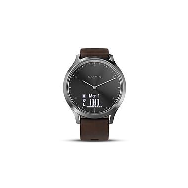Garmin vivomove™ HR Premium Smart Watch, Black/Silver, Large