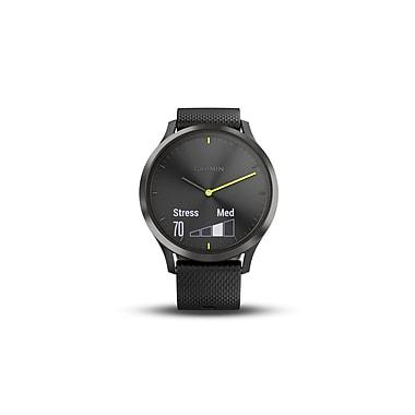 Garmin vivomove HR Sport Smart Watch, Black, Large