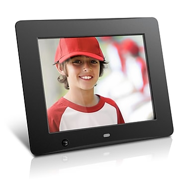 Aluratek 8 Digital Photo Frame With Motion Sensor And 4gb Built In