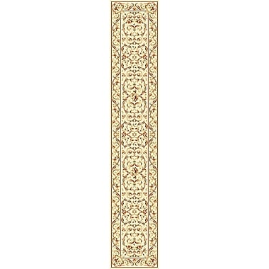 Astoria Grand Taufner Ivory Area Rug; Runner 2'3'' x 16'