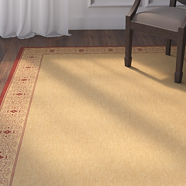 Astoria Grand Beasley Border Outdoor Rug; Runner 2'4'' x 6'7''
