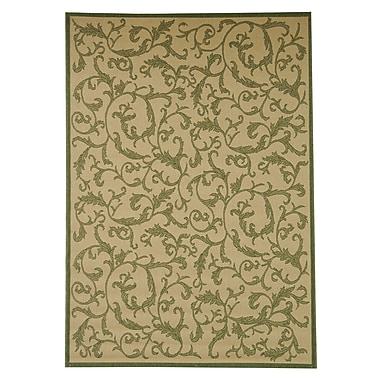 Astoria Grand Beasley All Over Ivy Outdoor Rug; Rectangle 5'3'' x 7'7''