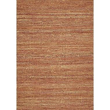 Bayou Breeze Dulce Merlot Area Rug; Rectangle 3'6'' x 5'6''