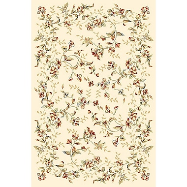 Astoria Grand Taufner Ivory Area Rug; Rectangle 5'3'' x 7'6''