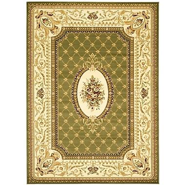 Astoria Grand Taufner Sage/Ivory Area Rug; Rectangle 7'9'' x 10'9''