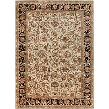 Astoria Grand Garrison Beige Area Rug; Rectangle 3'3'' x 5'3''