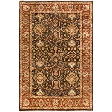 Astoria Grand Harrell Chocolate Rug; Runner 2'6'' x 10'