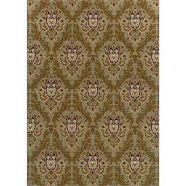 Astoria Grand Montes Green/Brown Area Rug; Runner 2'3'' x 7'6''
