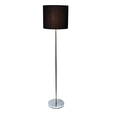 Ivy Bronx Hanneli 58'' Floor Lamp; Black