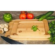 Imperial Home 3-Piece Bamboo Cutting Boards