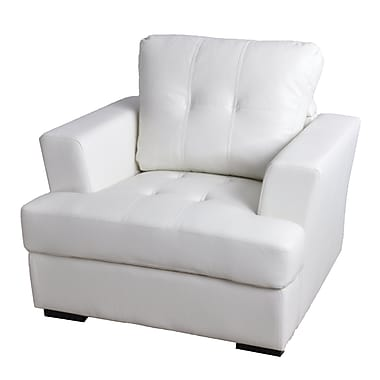 Latitude Run Lainey Armchair; White