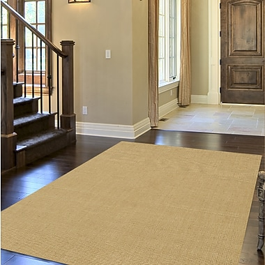 Bayou Breeze Dionne Honey Solid Rug; 3'6'' x 5'6''