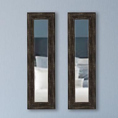 Brayden Studio Panel Mirror (Set of 2); 39.5'' H x 11.5'' W x 0.75'' D