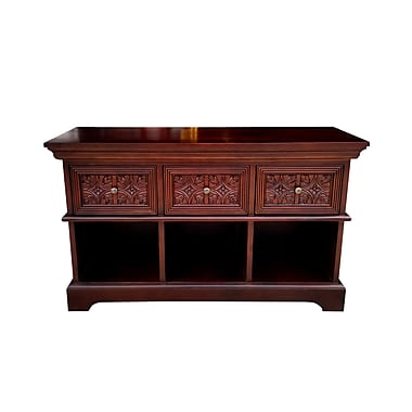 Darby Home Co Trafalgar Carved Front 50'' TV Stand