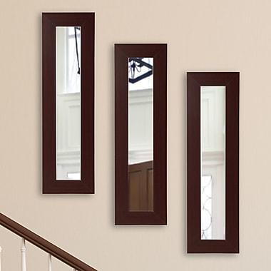 Latitude Run Panel Mirror (Set of 3); 32.5'' H x 11.5'' W x 0.75'' D