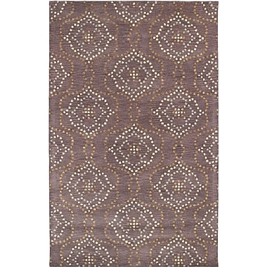 Alcott Hill Bergland Hand Tufted Brown/Beige Area Rug; 3'6'' x 5'6''