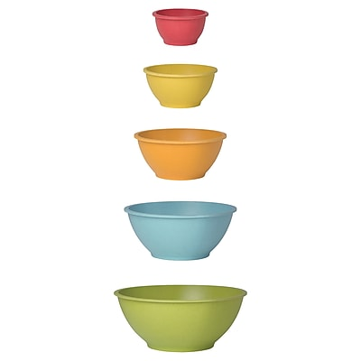 Now Designs Ecologie Mixing 5 Piece Bowl